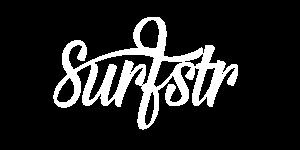 Surfstr white logo retna