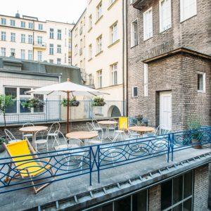 Surfstr Digital Marketing Office Space Prague Terrace